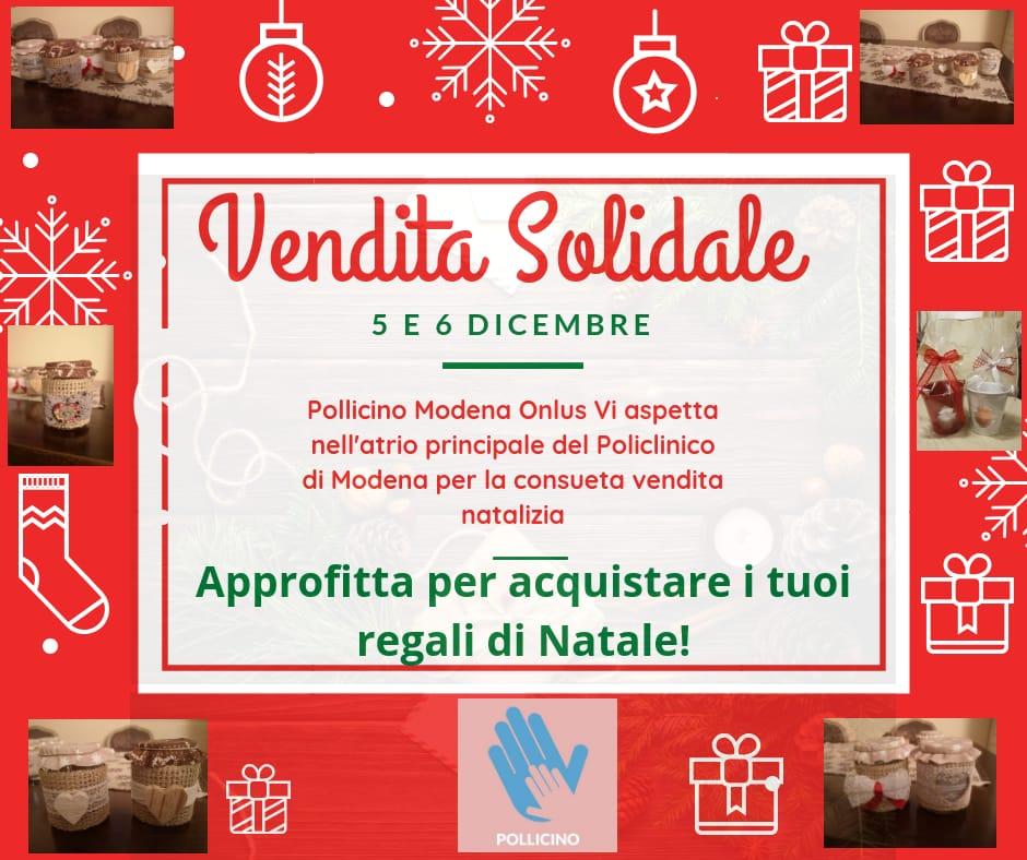 Regali Di Natale Onlus.Vendita Solidale 5 E 6 Dicembre Pollicino